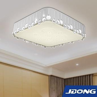 Jdong Exklusive Rechteckige Led Deckenleuchte Deckenlampe 30w
