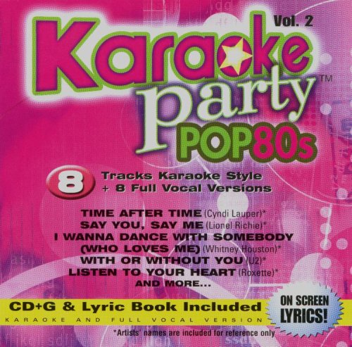 Karaoke Party Pop 80s Volume 2 CD+G