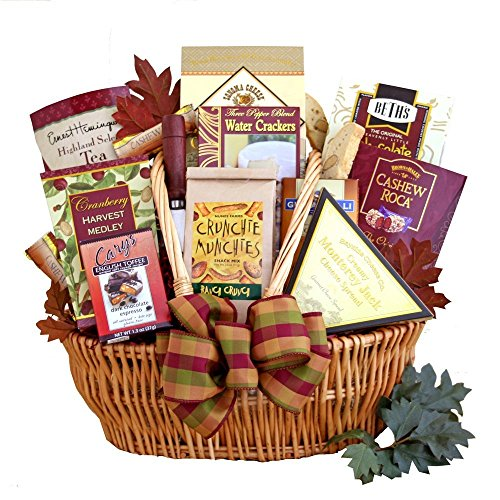 Munchies Abound   Gourmet Gift Basket   Cheese, Crackers, Chocolate and More
