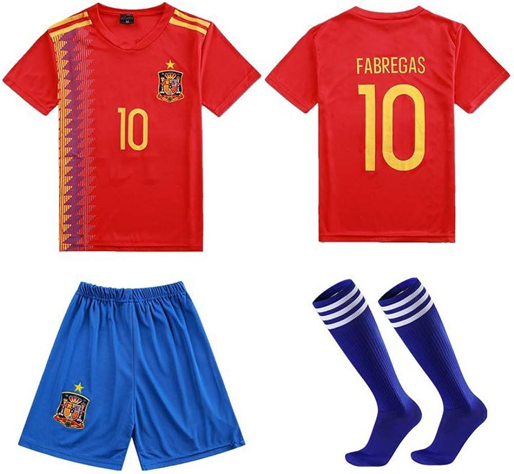 LQsy Ropa Deportiva De Fútbol, Adecuada para Niños, Conjunto De ...