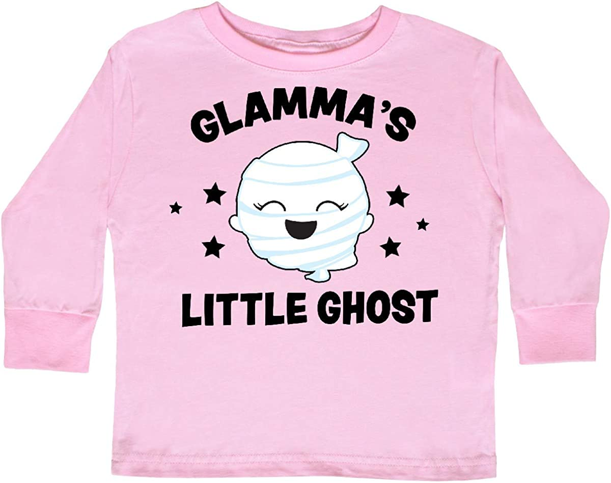 inktastic Cute Dads Little Ghost with Stars Toddler Long Sleeve T-Shirt