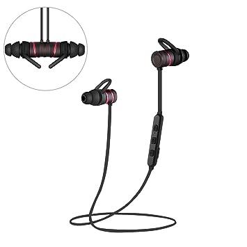 Auriculares inalámbricos por Bluetooth 4.1, de Q-Yee, magnéticos