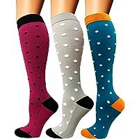 Diu Life Calcetines de compresión para Mujeres y Hombres 20-25 mmHg: los Mejores Calcetines…