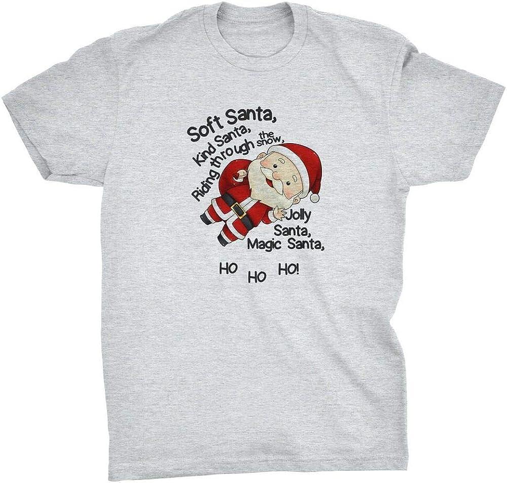 Soft Santa T-Shirt Soft Kitty Big Bang Theory Geek Christmas Sheldon Cooper