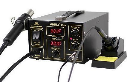Yihua 952D+ - Italtronik – Estación de soldadura y desoldadura de aire caliente