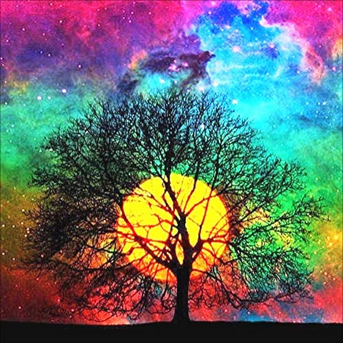 5D Diamond Painting Kit, Full Drill Arts Craft Canvas Supply for Home Wall Decor Adults and Kids(Neasyth Store ) (A-14X14in)
