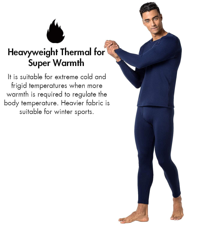 LAPASA Mens Heavyweight Thermal Underwear Pants Fleece Lined Long Johns Leggings Base Layer Bottom M25