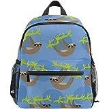 4b64df3b4c9 ZZKKO Cute Baby Sloth Kids Backpack School Book Bag for Toddler Boys Girls