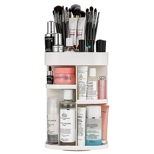104 opinioni per Jerrybox Porta Cosmetici, Rotazione 360 Gradi, Regolabile, Struttura a Torre
