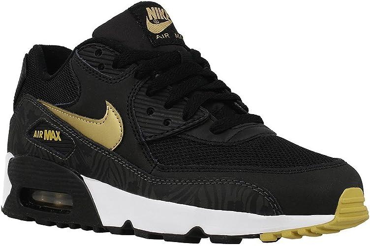 Nike air Max 90 Print Mesh GS, Chaussures de Running garçon