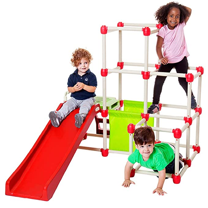 The Unsafe Child Less Outdoor Play Is >> Amazon Com Lil Monkey Everest Jungle Gym Toddler Climber