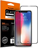 Spigen, Vetro Temperato iPhone X, Copertura Completa, (Premium Ver.) Pellicola Protettiva iPhone X, [ Edge to Edge ] protezione per schermo (057GL22986)