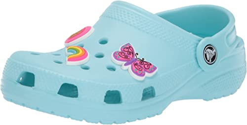NEW Pair of Rainbow Clog Shoe Charms