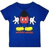 Disney – Camiseta clássica de manga curta para meninos