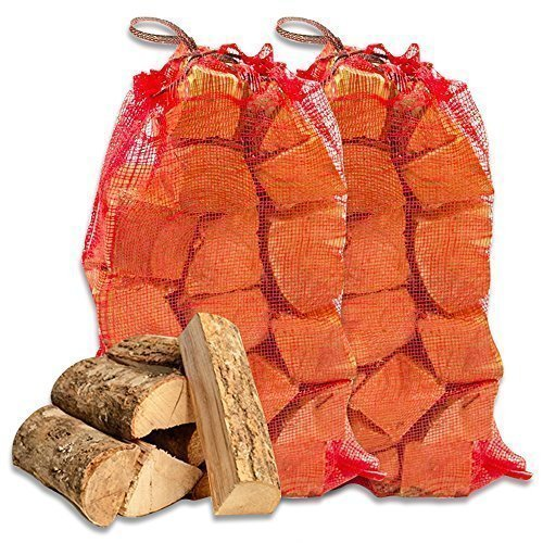 25KG of Tigerbox® High Quality Kiln Dried Ash Wooden Logs. Excellent Coal Alternative Fuel for Hotter Burning Fires. Maximum Moisture 20% Shop4accessories