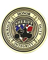 Harley-Davidson Sheriff Service Challenge Coin 1.75'' Gold Color 8002930