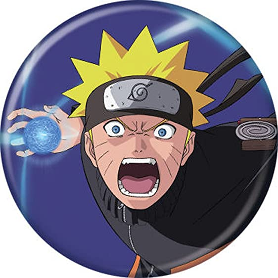 Amazon.com: Naruto Yelling - Pinback on 1.25