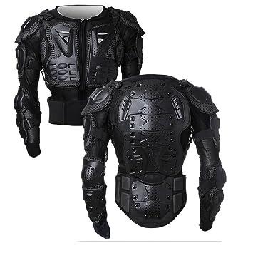SunTime Chaqueta de Protección para Motocross Motos Ropa Protectora de Cuerpo Armadura Completo Profesional de Motocicleta Deportiva para Hombres Columna ...