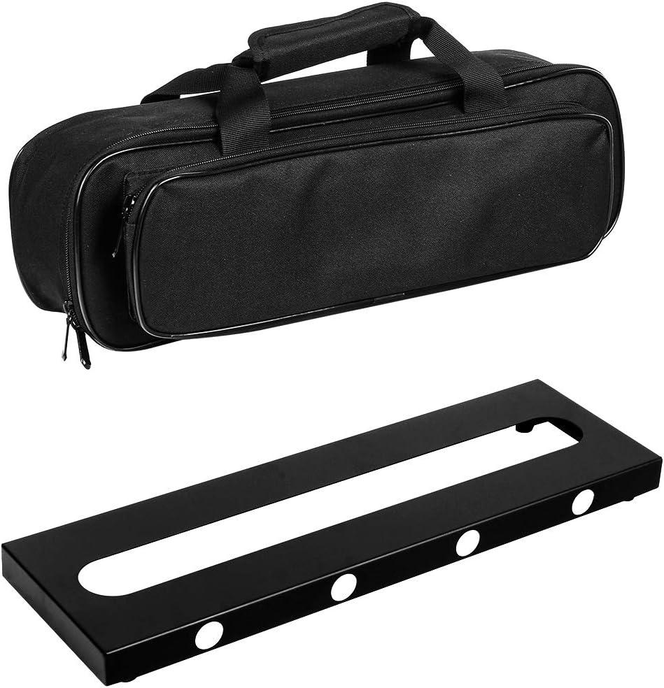 GOKKO AUDIO - Pedalera de efectos de guitarra con bolsa de transporte: Amazon.es: Instrumentos musicales