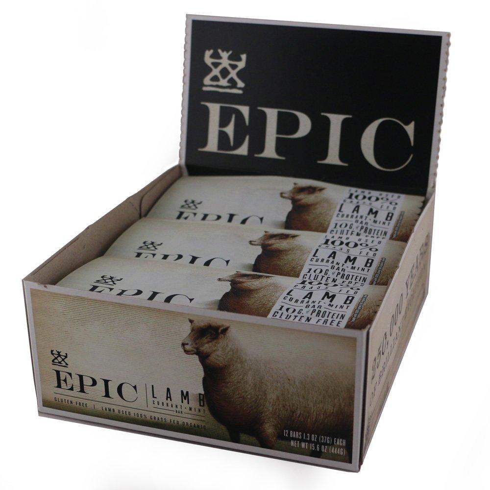 Amazon.com: Epic All Natural Meat Bar, 100% Natural, Lamb, Currant ...