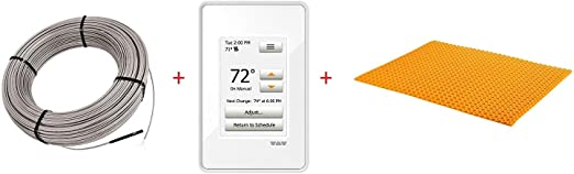 Amazon.com: Schluter Ditra Heat E Radiant - Kit de ...