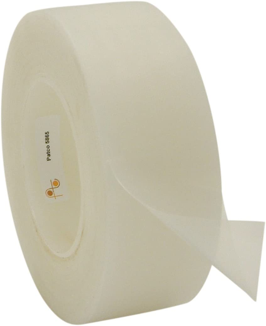 3 in x 36 yds. Patco 5560 Removable Protective Film Tape Clear