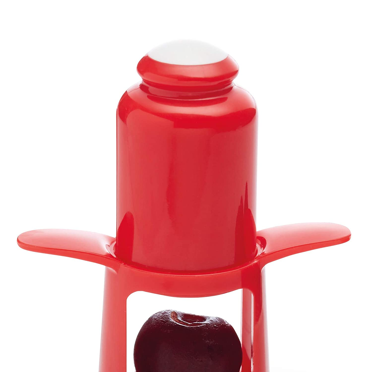 Amazon com: Kitchen Craft Healthy Eating 1-Press Cherry Pitter/Olive