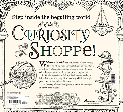 Amazon The Curiosity Shoppe Coloring Book A Magical And Mad Exploration Of Most Amusing Unexpected Assemblage Novelties Oddities