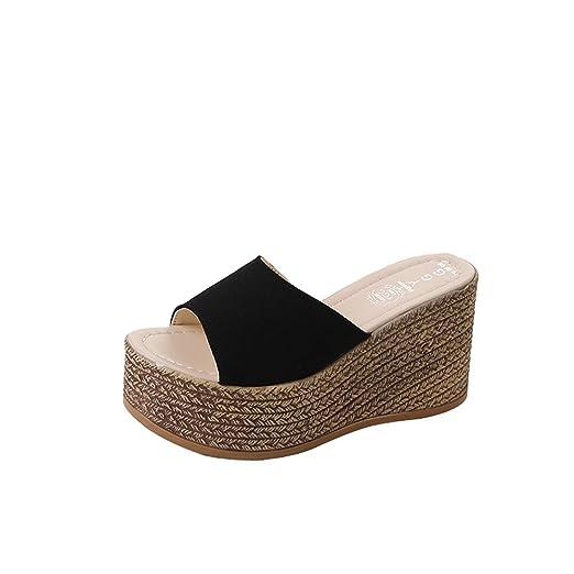 2c6181369bcc9 Amazon.com: Nevera Summer Sandals, 2019 Women's Wedges Shoes Teen ...