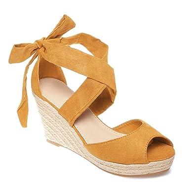 Sandales aspect corde e B3c6Bk