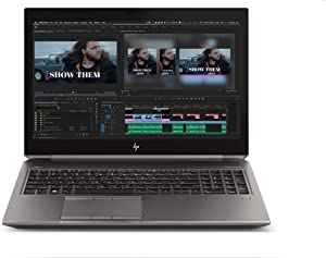 "2020 HP ZBook 15 G5 15.6"" FHD(1920x1080) Mobile Workstatioptn Laptop (Intel 6-Core i7-8850H, 64GB DDR4 RAM, 2TB PCIe SSD, Quadro P2000) Thunderbolt 3, HDMI, Fingerprint, Backlit, Windows 10 Pro"