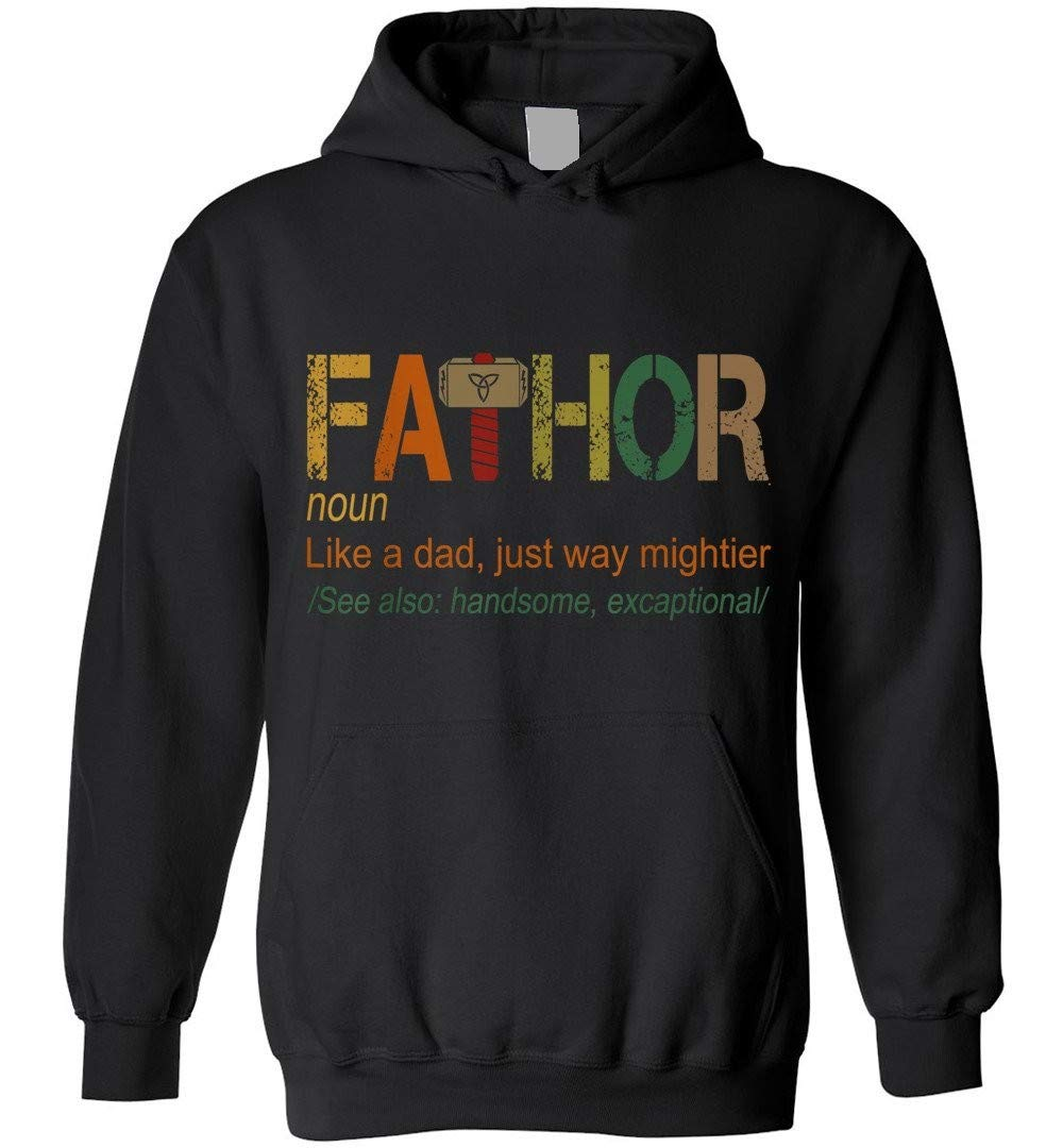 Fathor Like Dad Just Way Mightier Shirts