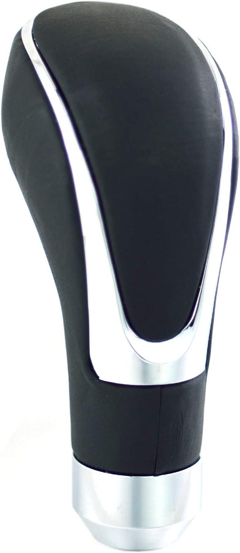 Ting Ao Auto Leather Car Manual//Automatic Knob Gear Shift Head Shifter Lever Stick Black