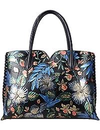 Designer Floral Purse Women's Handbags Top Handle Satchel Tote Bags