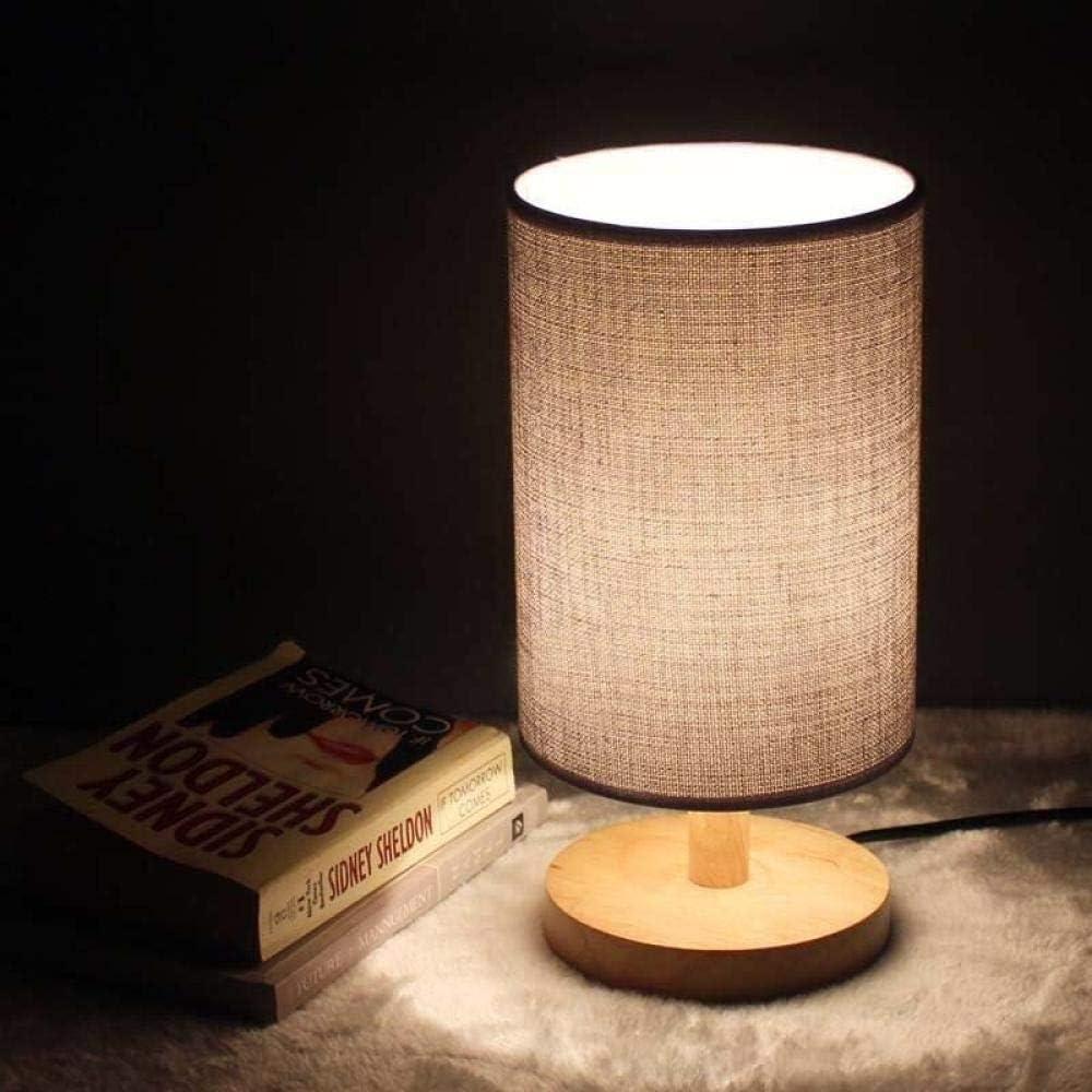 Lampe de Nuit Chevet Veilleuse Lampe de table LED simple cadeau d'anniversaire-Elk + Log-Dimming night light veilleuse enfant Éclairage Jute + Gradation des Bûches