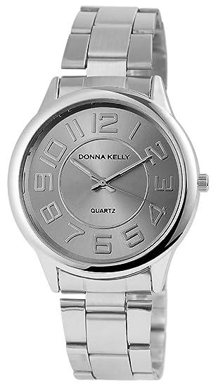 Donna Kelly Reloj Analógico para Mujer de Cuarzo con Correa en Acero Inoxidable 191321500001: Amazon.es: Relojes