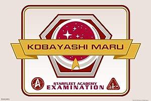Pyramid America Star Trek Starfeet Academy Kobayashi Maru Cool Wall Decor Art Print Poster 12x18