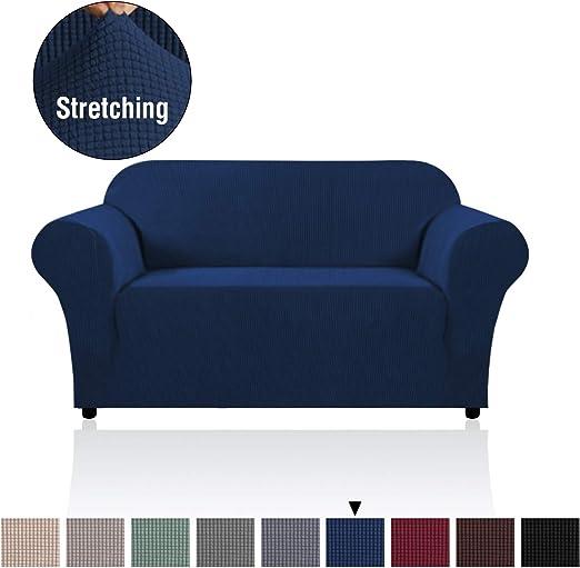 H.Versailtex Modern Spandex 1 Piece Sofa Cover for Living