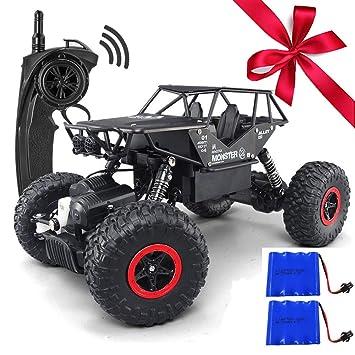 Rc-lastwagen Rc Auto 4wd High Speed Wireless Wiederaufladbare Auto Klettern Elektrische Lkw Fernbedienung Off-road Fahrzeug Spielzeug Für Jungen Kind Geschenk