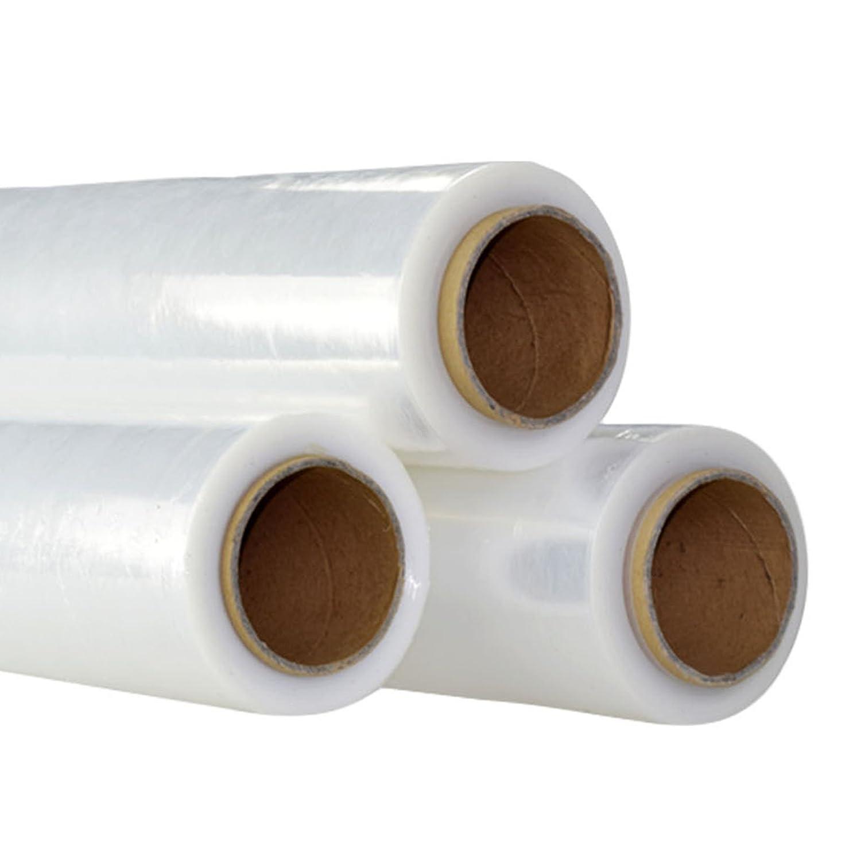 /Lot de 6 claire Allright 400/mm de largeur solide Emballage Rouleaux de film /étirable Pallet Shrink Wrap/