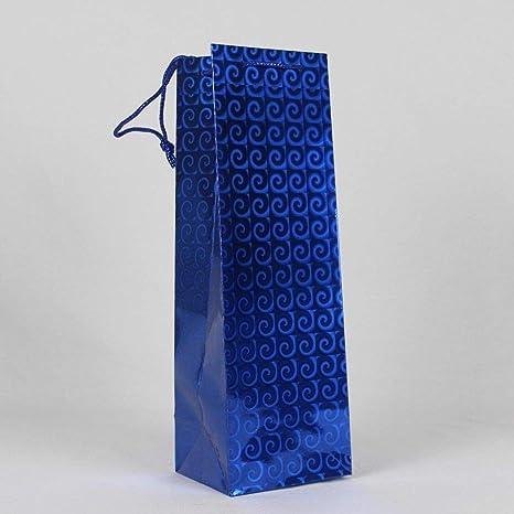 12 azul Dragons bolsas de regalo para botella de vino ...