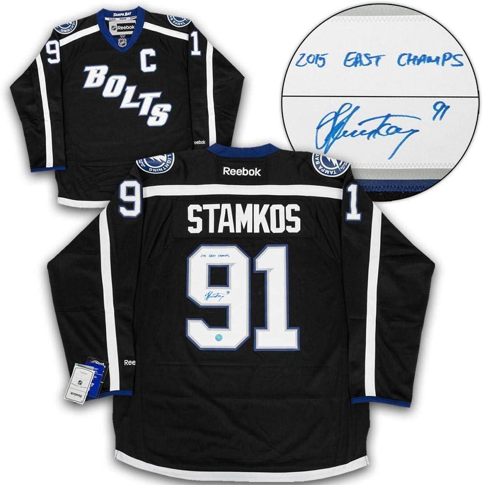 Signed Steven Stamkos Jersey - Black