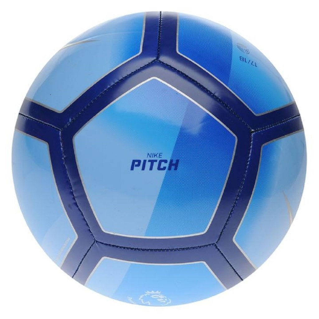 Balón Futol Nike Pitch Premier League Royal: Amazon.es: Deportes y ...