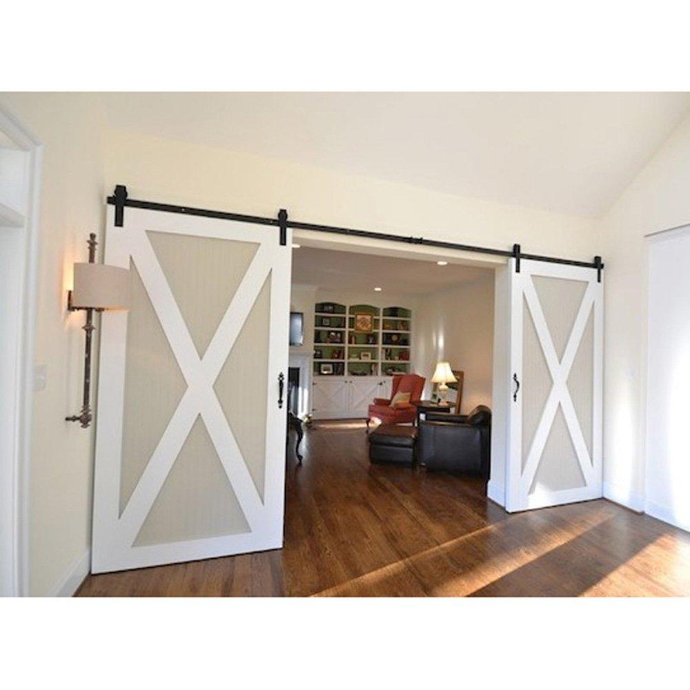 Doors epic sliding door hardware barn as for for Outdoor sliding barn door hardware