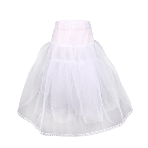 Flora Girls Hoopless Net Petticoat/Child Underskirt/Bridesmaid Skirt