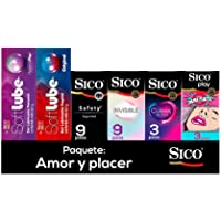 Kit 24 Condones + Lubricantes Original y Pleasure Plus Sico