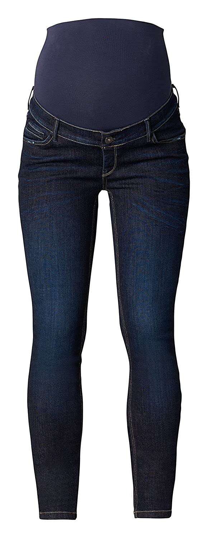 Noppies Damen Jeans OTB Skinny Avi Misty Blue Umstandsjeans