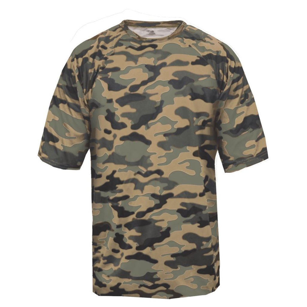 Badger Sport Youth Camouflage Tee (X-Small, Sand Camo) by Badger Sport