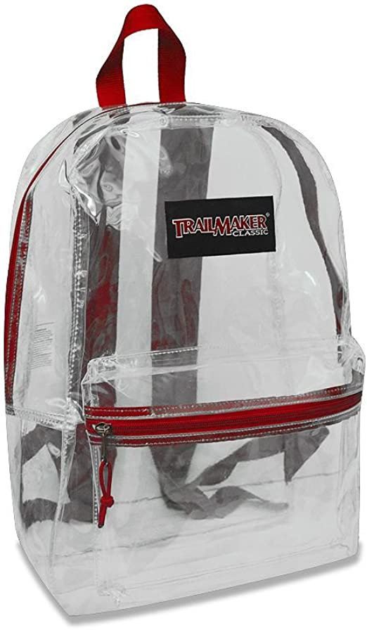 Red Trailmaker Classic 17/' Backpack