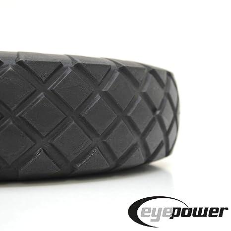 Eje 4.00-8 390x90 neumático sin aire para carretillas: Amazon.es: Industria, empresas y ciencia